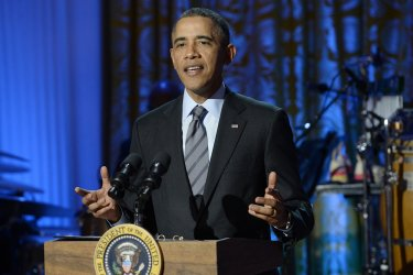 US President Barack Obama and First Lady Michelle Obama host 'In Performance at the White House - Women of Soul'