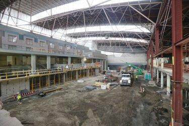 St. Louis Aquarium construction contiinues