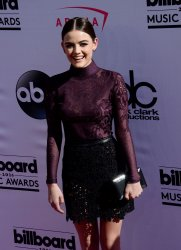 Actress Lucy Hale attends the Billboard Music Awards in Las Vegas
