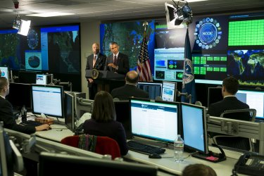President Obama Delivers Remarks On Cyber Security