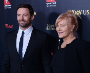 Hugh Jackman and Deborra-Lee Furness attend the G'Day USA gala in Los Angeles