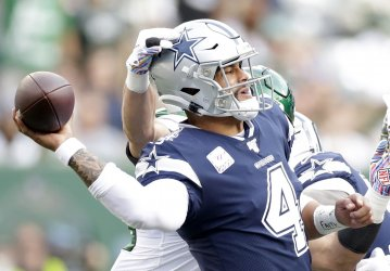 Dallas Cowboys play the New York Jets in New Jersey