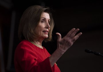 Speaker Pelosi speaks on Capitol Hill