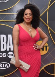 Niecy Nash attends the 2019 NBA Awards in Santa, Monica, California
