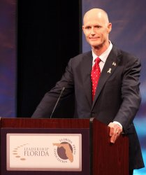 Florida gubernatorial debate in Davie,  Florida