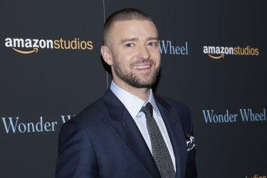 Justin Timberlake at 'Wonder Wheel' screening