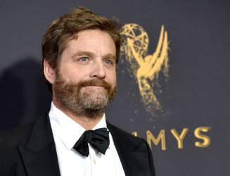 Zach Galifianakis attends the 69th annual Primetime Emmy Awards in Los Angeles
