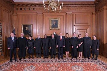 Formal investiture of Associate Justice Brett M. Kavanaugh at Supreme Court