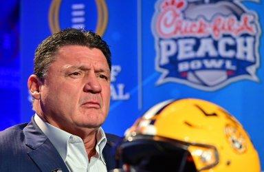 Chick-fil-A Peach Bowl coaches joint news conference in Atlanta