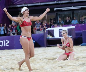Women's Beach Volleyball Final at 2012 Olympics in London