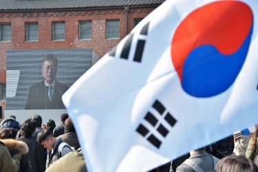 March First Independence Movement ceremony in Seoul