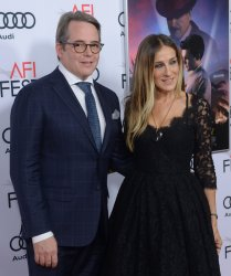 """Sarah Jessica Parker and Matthew Broderick attend the """"Rules Don't Apply"""" premiere in Los Angeles"""