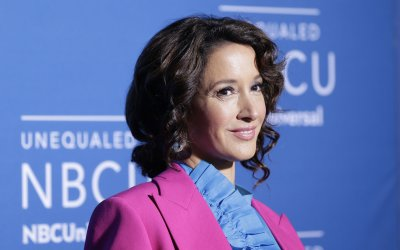 Jennifer Beals at the 2017 NBCUniversal Upfront