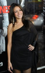 """Itlaia Ricci attends the """"Edge of Darkness"""" premiere in Los Angeles"""