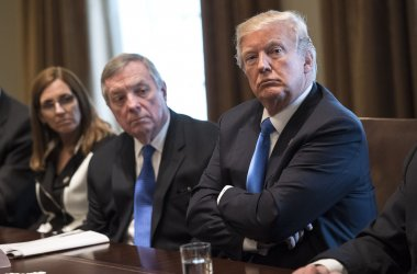 President Trump holds a Bipartisan Congressional meeting on Immigration at the White House