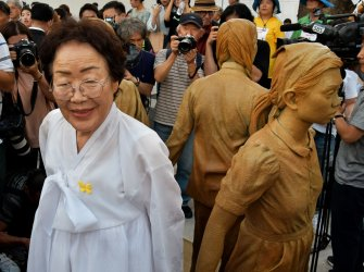"""Comfort Women's Day"" in Seoul"