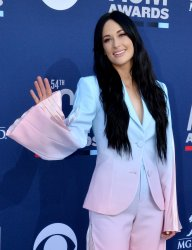 Kacey Musgraves attends the Academy of Country Music Awards in Las Vegas