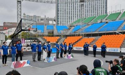 READY STEADY TOKYO, 3x3 Basketball test event