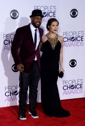 Stephen 'tWitch' Boss and Allison Holker attend the 42nd annual People's Choice Awards in Los Angeles