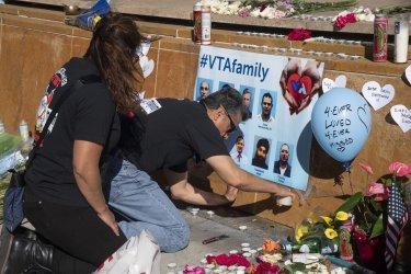 San Jose Holds Vigil for Slain Transit Workers