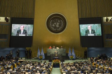 World leaders convene at UN for signing ceremony for Paris Agreement