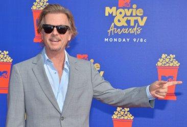 David Spade attends the MTV Movie & TV Awards in Santa Monica, California