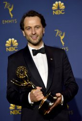 Matthew Rhys wins award at the 70th Primetime Emmy Awards in Los Angeles