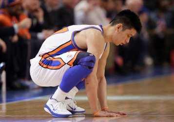 New York Knicks Jeremy Lin at Madison Square Garden in New York