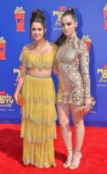 Laura Marano and Vanessa Marano attend the MTV Movie & TV Awards in Santa Monica, California