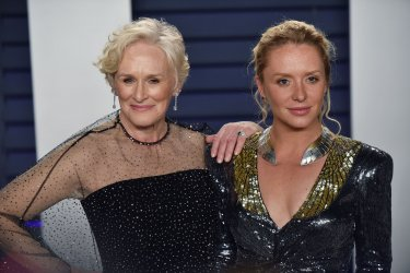 Glenn Close attends Vanity Fair Oscar Party 2019