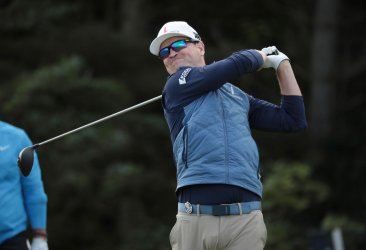 Zach Johnson on the 1st day of the Open Championship at Royal Portrush