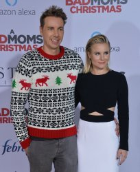 """Kristen Bell and Dax Shepard attend """"A Bad Moms Christmas"""" premiere in Los Angeles"""