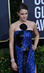 Shailene Woodley attends the 77th Golden Globe Awards in Beverly Hills