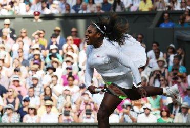 Serena Williams versus Camila Giorgi at Wimbledon Women's Quarter-Finals