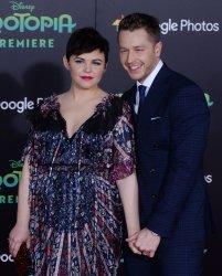 """Jennifer Goodwin and Josh Dallas attend the """"Zootopia"""" premiere in Los Angeles"""