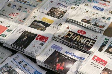 Iranian newspapers publish U.S. President-elect Barack Obama