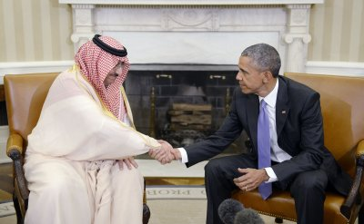 President Obama meets wih Crown Prince of Saudi Arabia- DC