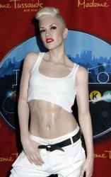 Gwen Stefani wax figure unveiled at Madame Tussauds in New York