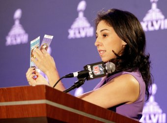 The Super Bowl XLVII ICE press conference on counterfeit items in New Orleans
