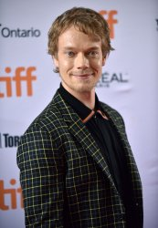 Alfie Allen attends 'How To Build A Girl' premiere at Toronto Film Festival