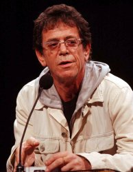 LOU REED PERFORMS AT DOWNTOWN FOR DEMOCRACY FUNDRAISER