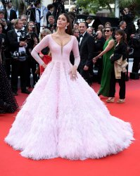 Iris Mittenaere attends the Cannes Film Festival