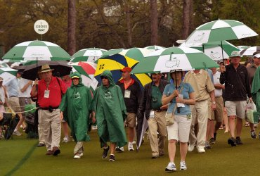 Round 2 of the Masters in Augusta, Georgia