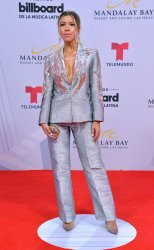 Stephanie Carrillo attends the Billboard Latin Music Awards in Las Vegas