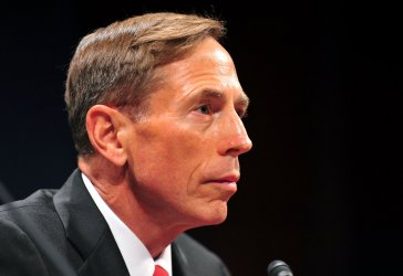 Central Intelligence Agency Director David Petraeus testifies before a Joint Intelligence Committee hearing in Washington