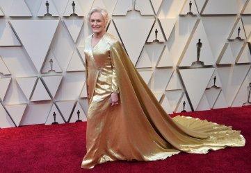 Glenn Close arrives for the 91st Academy Awards