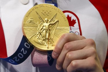 Margaret Macneil of Canada Gold Medal Winner at the Tokyo Olympics