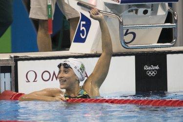 Olympic Swimming Heat