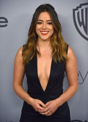 Chloe Bennet attends Instyle/Warner Bros. Golden Globes party