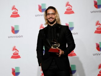 Maluma wins best contemporary pop vocal album at the 19th annual Latin Grammy Awards in Las Vegas